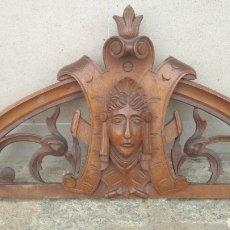 Antiquités: COPETE ISABELINO CAOBA.. Lote 201316647