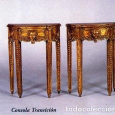 Antiquités: CONSOLAS . Lote 201330240