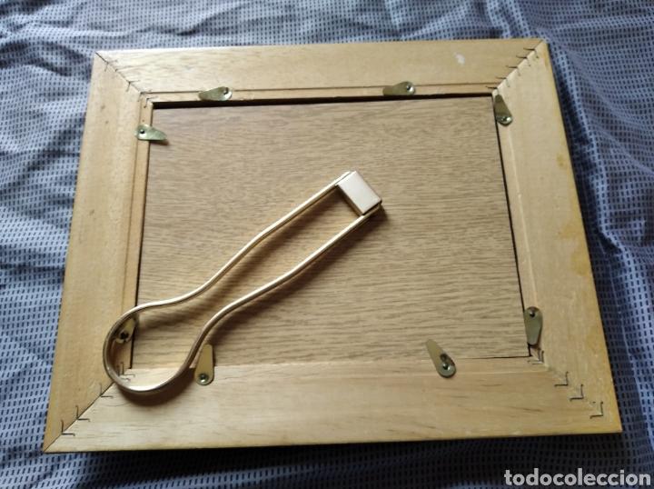 Antigüedades: Marco portafotos vintage madera medida interior 18 x 14 cm marco 5 cm - Foto 3 - 201334438