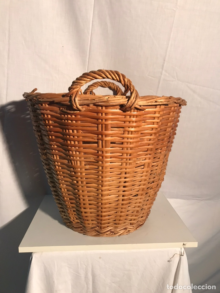 Antigüedades: Gran cesta antigua - Foto 2 - 201339677