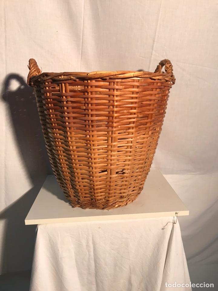 Antigüedades: Gran cesta antigua - Foto 3 - 201339677