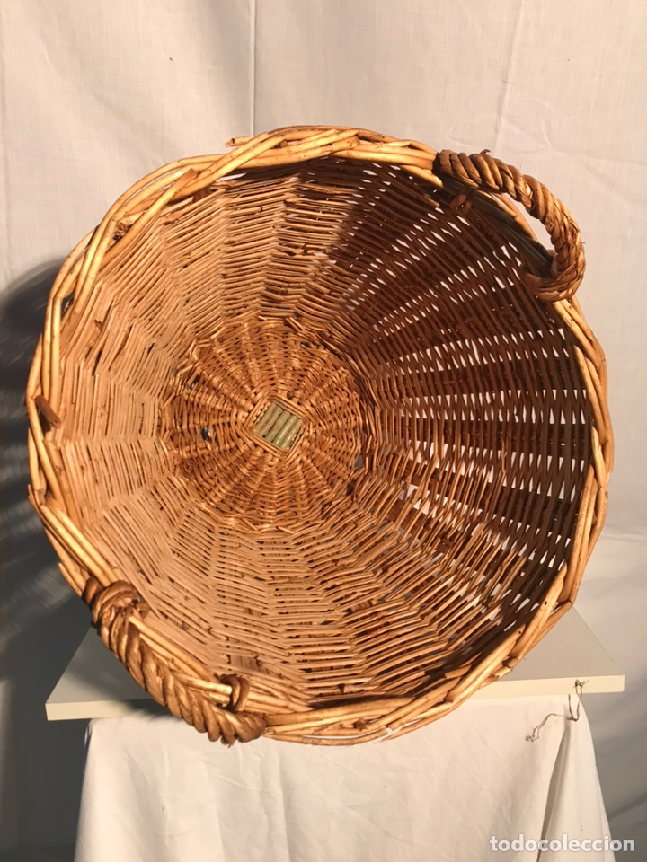 Antigüedades: Gran cesta antigua - Foto 5 - 201339677