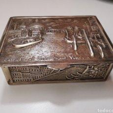 Antigüedades: CAJA DE PLATA. Lote 201365833