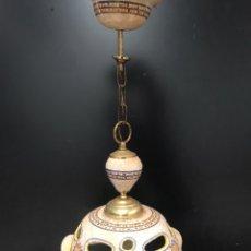 Antigüedades: LAMPARA DE TALAVERA EL CARMEN. Lote 201489802