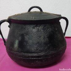 Antiguidades: OLLA DE HIERRO. Lote 201536472