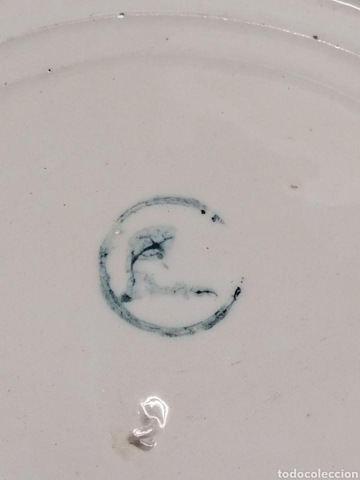 Antigüedades: Palangana de porcelana - Foto 6 - 201642830