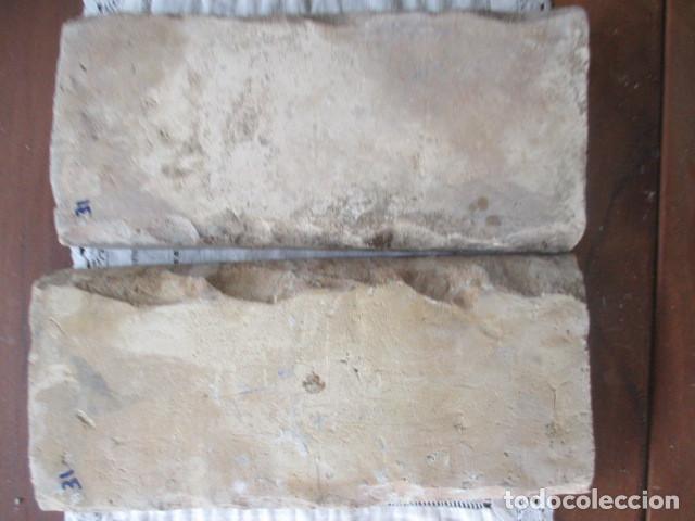 Antigüedades: pareja nº31 azulejos siglo XVI (Triana) - Foto 2 - 201648496