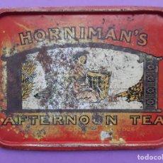 Antigüedades: BANDEJA HORNIMAN'S TE. Lote 201757010
