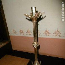 Antigüedades: ANTIGUO CANDELABRO DE BRONCE.. Lote 201790986