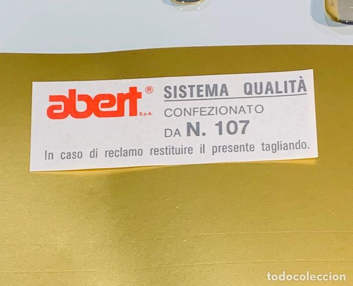 Antigüedades: Cuberteria Italiana Abert. Acero Inox. 18/10 & Oro 24ct. 12 Serv./75 piezas. Premium. 70/80s. Nueva. - Foto 8 - 201827911