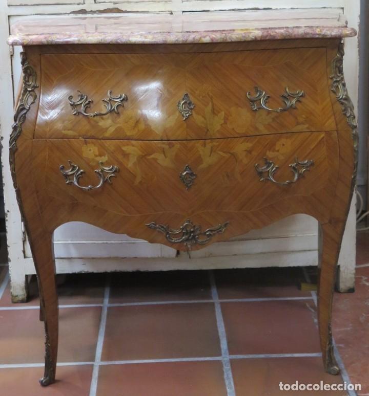 PRECIOSA COMODA BOMBE. ESTILO LUIS XV (Antigüedades - Muebles - Cómodas Antiguas)