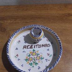 Oggetti Antichi: ACEITUNERO DE MESA. Lote 201991208