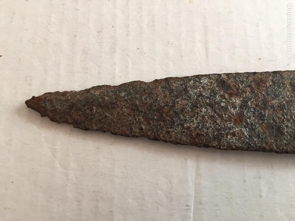 Antigüedades: Antigua hoja de puñal - Foto 4 - 202076771