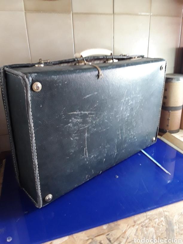 Antigüedades: Antigua maleta de carton - Foto 4 - 202085073