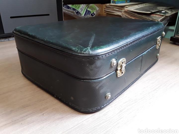 Antigüedades: Antigua maleta de carton - Foto 3 - 202087265
