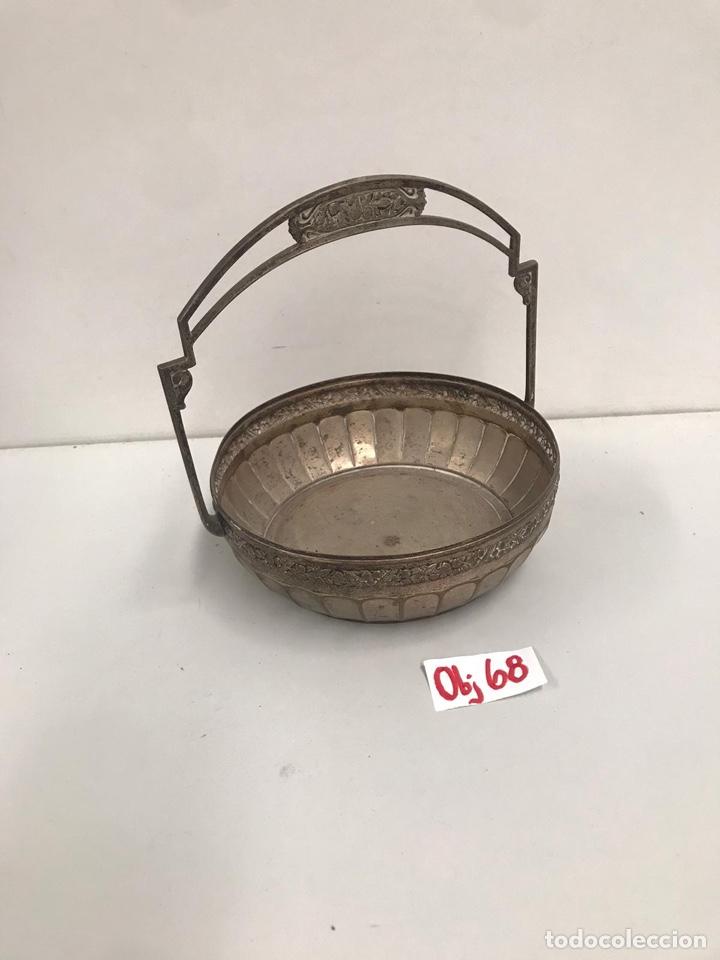 BANDEJA DE ALPACA (Antigüedades - Plateria - Varios)