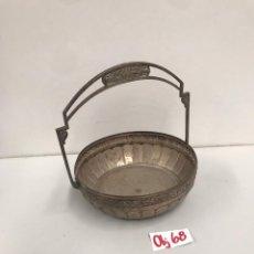 Antigüedades: BANDEJA DE ALPACA. Lote 202266027
