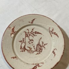Antigüedades: RARO PLATO DE MUEL FINALES S.XVIII. Lote 202346707