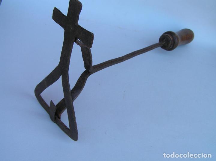Antigüedades: HIERRO DE MARCAR. Forja. Siglo XVIII CARTUJA. - Foto 2 - 202354980