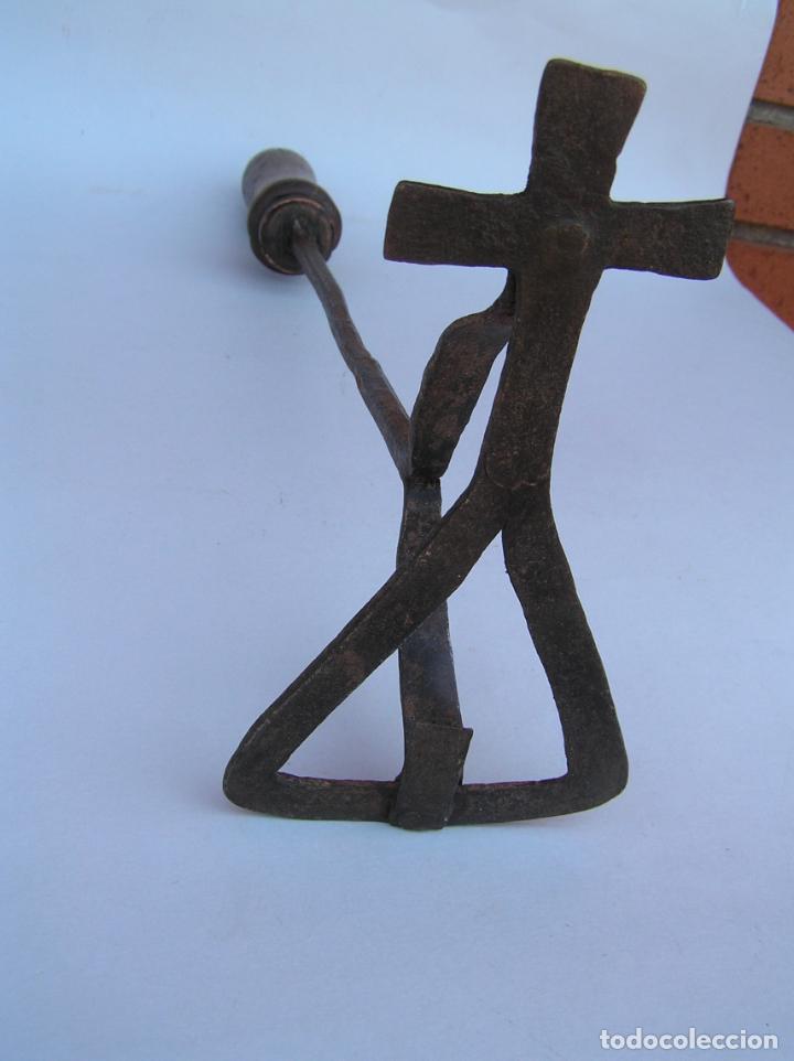 Antigüedades: HIERRO DE MARCAR. Forja. Siglo XVIII CARTUJA. - Foto 4 - 202354980