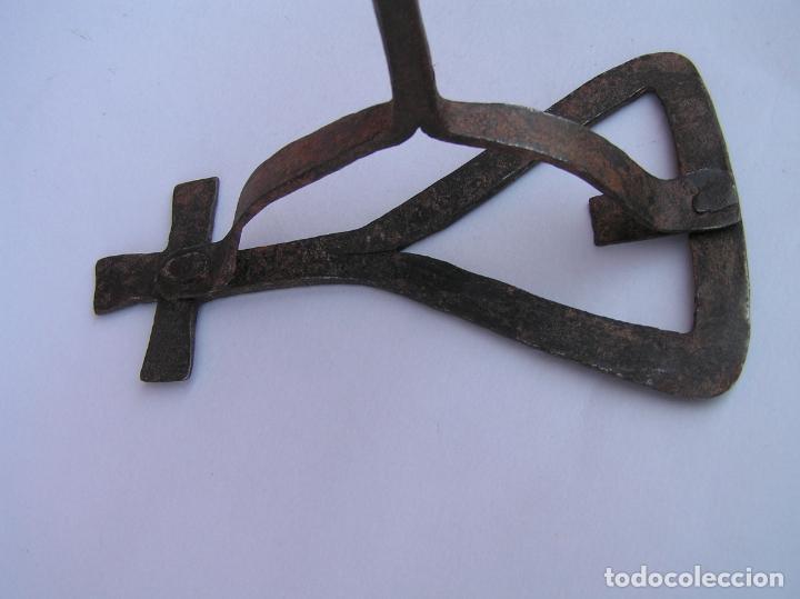 Antigüedades: HIERRO DE MARCAR. Forja. Siglo XVIII CARTUJA. - Foto 9 - 202354980