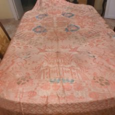 Antigüedades: COLCHA CUBRE PROCESION SEDINA CHINERIE. 1900. MODERNISTA. Lote 202391707