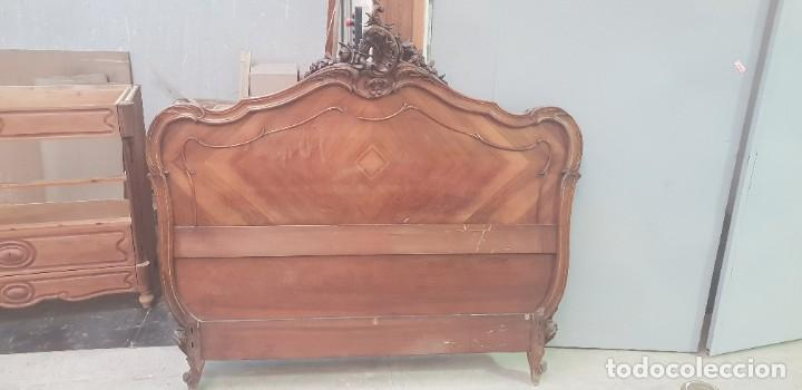 Antigüedades: Cama Luis XV - Foto 2 - 202407468