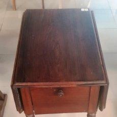 Antigüedades: MESA AUXILIAR DE PALO SANTO. Lote 202407683