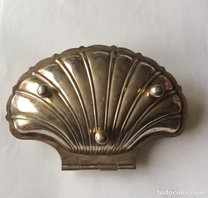 Antigüedades: Salsera antigua Francesa con contrastes, en metal plateado - Foto 3 - 202409753