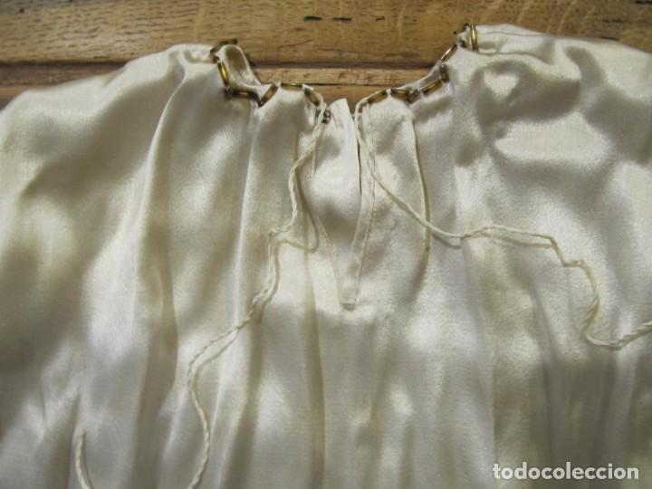 Antigüedades: ROPA ANTIGUA PARA IMAGEN DE VESTIR CON PEDRERIA BORDADA - Foto 6 - 202417681