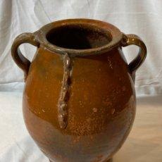 Antigüedades: PUCHERO EN CERÁMICA ARAGONESA S.XIX. Lote 202429180