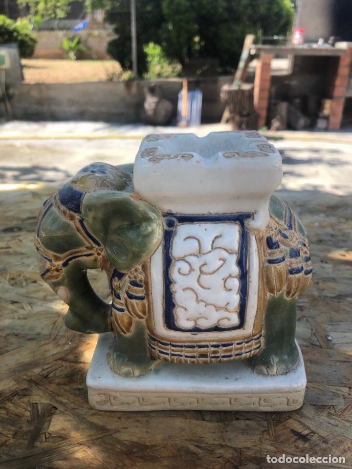 ELEFANTE (Antigüedades - Hogar y Decoración - Ceniceros Antiguos)
