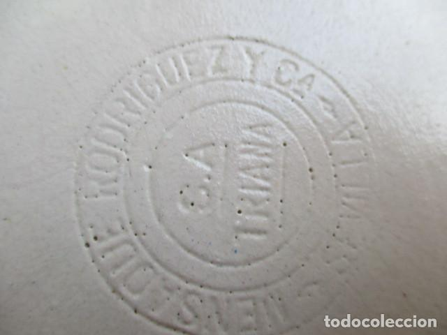 Antigüedades: plato ceramica Triana escena quijote (Mensaque) - Foto 3 - 202487867
