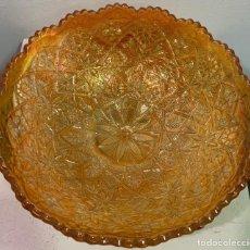 Antigüedades: CARNIVAL GLASS, FRUTERO DE CRISTAL.. Lote 202492518