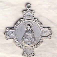 Antigüedades: GRAN MEDALLA DE COFRADE DE LA STMA. VIRGEN DE LA CAPILLA, PATRONA DE JAÉN.- REVERSO: ALTAR DESCENSO. Lote 202528662
