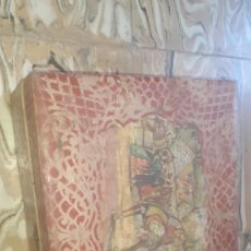 Antigüedades: CAJA DECORACION ESTILO FLAMENCO MUY ANTIGUA. Lote 202573336