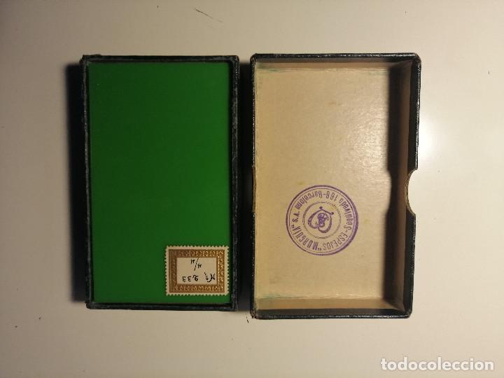 Antigüedades: Caja muestrario de Espejos Murgia. Exposición Internacional de Barcelona 1929. - Foto 2 - 202587963