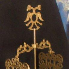 Antigüedades: CANDIL GRANDE DE BRONCE, ALTO 72 CM.. Lote 202597141