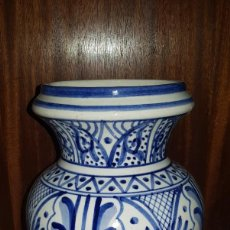 Antigüedades: JARRÓN CERÁMICA. Lote 202662580