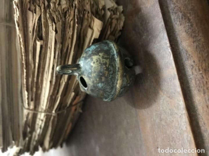 Antigüedades: Cascabel bronce - Foto 2 - 202666248