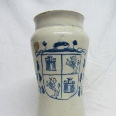 Antigüedades: ALBARELO DE FARMACIA DE TALAVERA S.XVIII. Lote 202678482