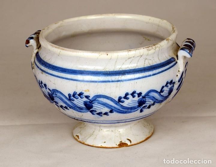 CUENCO CERAMICA (Antigüedades - Porcelana y Cerámica - Holandesa - Delft)