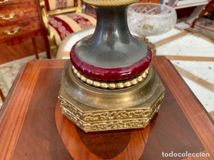 Antigüedades: Preciosa lámpara inglesa - Foto 2 - 202706593