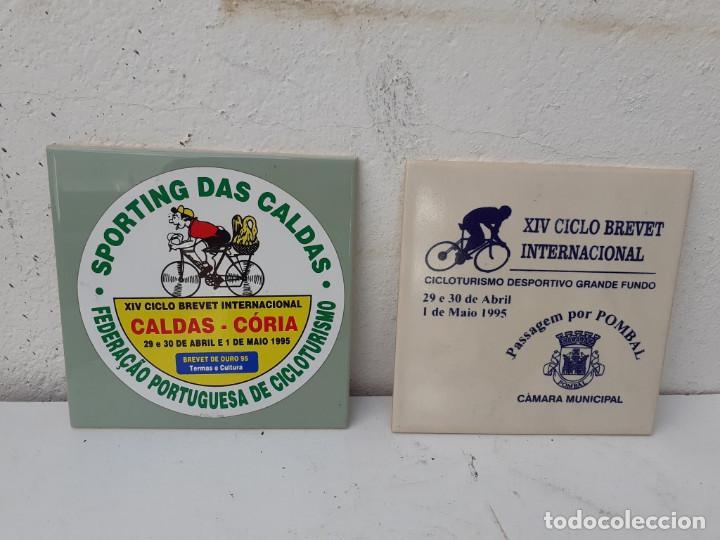 2 AZULEJOS PORTUGUESES (Antigüedades - Porcelanas y Cerámicas - Azulejos)
