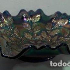 Antigüedades: CARNIVAL GLASS, FRUTERO.. Lote 202752738