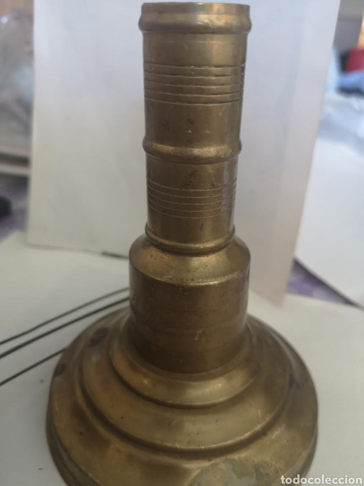 Antigüedades: Quique frases muy antiguo de bronce. - Foto 12 - 202765393