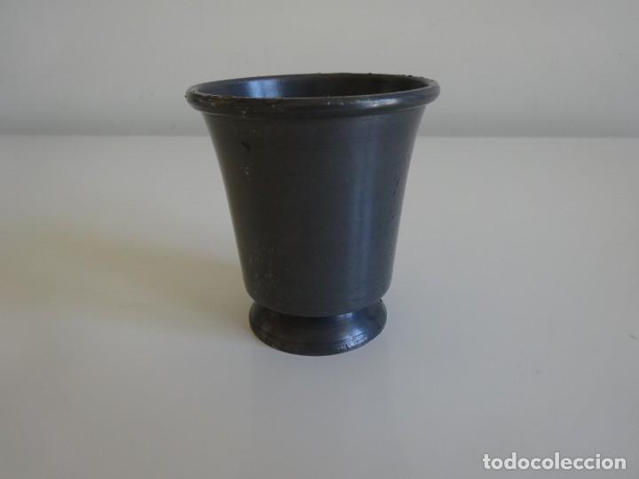 Antigüedades: Copa de estaño pewter con sellos holandesa - Foto 2 - 202778296