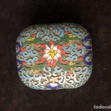 Antigüedades: CAJITA JAPONESA ANTIGUA DE CLOISONNE.. Lote 202789175
