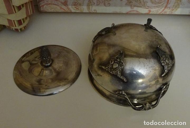 Antigüedades: SOPERA CON TAPA PARA SERVIR. SIN MARCAS - Foto 7 - 202830218