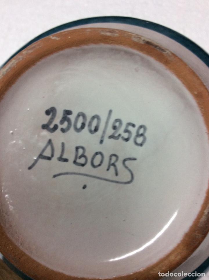 Antigüedades: Albarelo Albors 21x12cm Aconitum Napellus 2500/258 rf5 - Foto 3 - 202831091